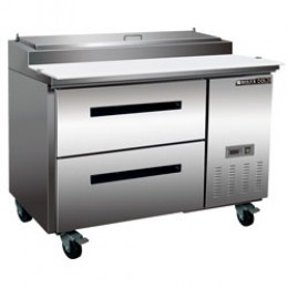 Maxx Cold MXCPP50-D Pizza Preparation Table with 2 Drawers