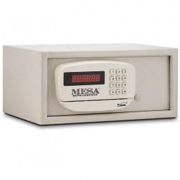 Mesa MH101E Business and Residential Electronic Hotel Safe, .4 cu ft