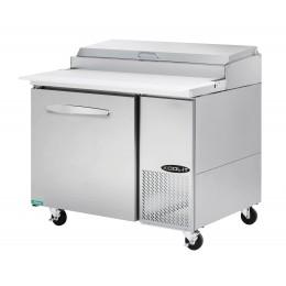 Kool-It KPT-44-1 Stainless Steel Pizza Table, 44.4