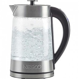 Nesco GWK-02 Glass Electric Water Kettle 57 oz