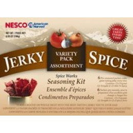 Nesco BJV-6 Jerky Spice Works-6 pk, Variety Pack