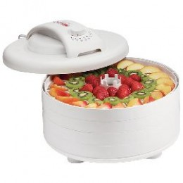 Nesco FD-60 Snackmaster Express Food Dehydrator White