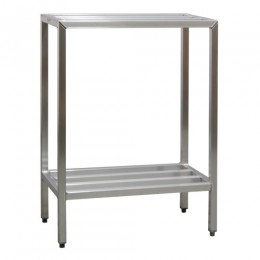 New Age 1024 All Welded HD Shelving Two Shelf 20inD x 48inH x 72inL