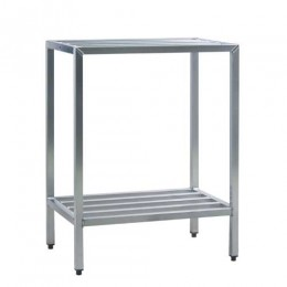 New Age 1025 All Welded HD Shelving Two Shelf 24inD x 48inH x 36inL
