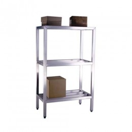 New Age 1050 All Welded HD Shelving Three Shelf 20inD x 60inH x 42inL