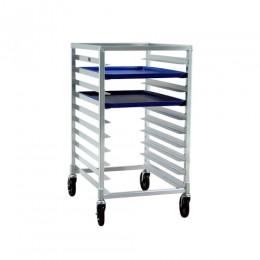New Age 1312 Half Height Pan Rack, 3in Spacing, 10 Pan Capacity