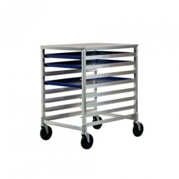 New Age 1313 Under-Counter Height Pan Rack, 3in Spacing, 8 Capacity