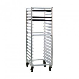 New Age 1361 Three Quarter Height Pan Rack, 3in Space, 17Pan Capacity