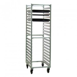 New Age 1461 Full Height Channel Style Pan Rack, 38 Pan Capacity