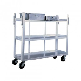 New Age 95667 Bulk Carrier Cart, 3 Shelf, 20