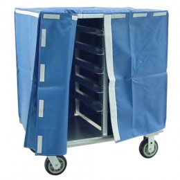 New Age 96005C Room Service Cart, Double Deep, 5in Spacing, 20 Pan
