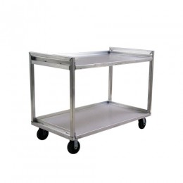 New Age 97177 Extreme Duty Utility Cart Two Tier 22inx34in Shelf Size