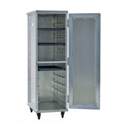 New Age 97243 Enclosed Pan Rack, 12 Pan Capacity, Reinforced Door