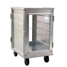 New Age 97655CD Enclosed Room Service Cart 5.5in Spacing 12 15inx20in