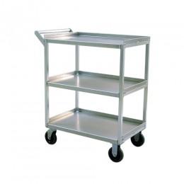 New Age 97769 Utility Cart Heavy Duty Three Tier 18inx28in Shelf Size