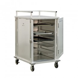 New Age 97830 Universal Room Service Cart, Universal Stepped Angles