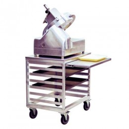 New Age 99217 Eqiupment Stand with Retractable Shelf