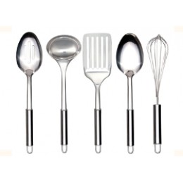 Neway International 5-Piece Stainless Kitchen Tool Set
