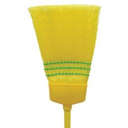 Nexstep 07012 Pollyana Plastic Fiber Household Broom (12 Pack)