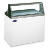 Norlake HF100WWG/0 Standard Viewing Dipping Display Freezers 47-3/4