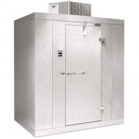 Norlake KLB68-CL Indoor Walk-in Utilty Refrigerator Ceiling Mount Capsule Pack Left Door 6'L x 8'W x 6' 7