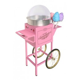 Nostalgia CCM-600 Old Fashioned Carnival Cotton Candy Machine Pink
