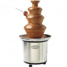 Nostalgia Electrics Chocolate Fondue Fountain Stainless-Steel