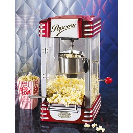 Nostalgia RKP630 Retro Series Kettle Popcorn Maker Red