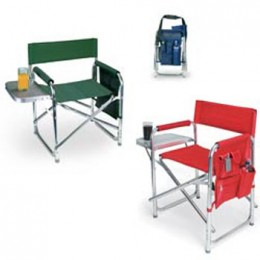 Aluminum Sports Chair w/ Fold-out Table