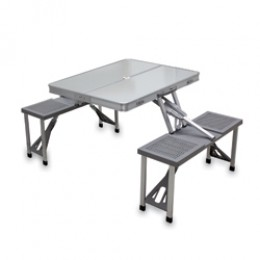 Picnic Time Aluminum Picnic Table