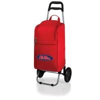 University of Mississippi Rebels/OleMiss Cart Cooler - Red
