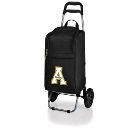 Appalachian State Mountaineers Cart Cooler - Black