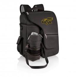 NCAA West Virginia Mountaineers Bongo Insulated Collapsible Cooler Black