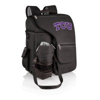 Texas Christian University Horned Frogs Turismo Insulated Backpack Cooler