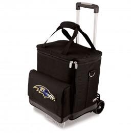 Baltimore Ravens Cellar w/Trolley