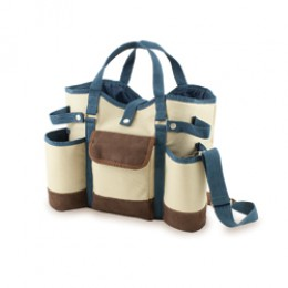 Wine Country Tote w/ Cheese Service & Corkscrew
