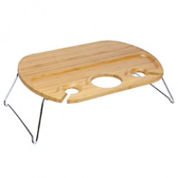 Picnic Time Mesamio Wine Serving Table