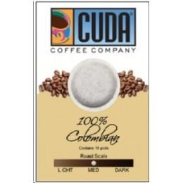 Cuda Coffee 100% Colombian Pods 61 MM (Single Cup) 108/CS