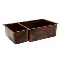 Premier Copper K25DB33199 33in Hammered Copper Kitchen Sink