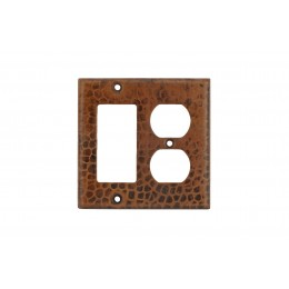 Premier Copper SCOR Copper Combination Switchplate