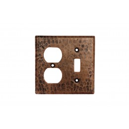 Premier Copper SCOT Copper Combination Switchplate