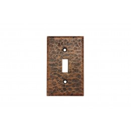 Premier Copper ST1 Copper Switchplate Single Toggle Switch Cover
