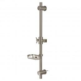 Pulse ShowerSpas 1010-BN Adjustable Slide Bar Brushed Nickel