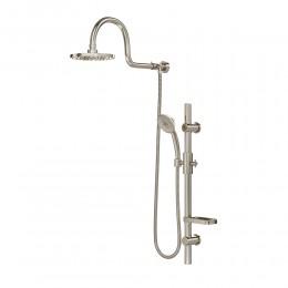 Pulse ShowerSpas 1019-BN Aqua Rain Shower System Brushed Nickel