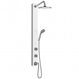Pulse ShowerSpas 1021-W Aloha Shower Panel White