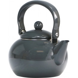 Reston Lloyd 30110 Calypso Basic 2 Qt. Harvest Tea Kettle Charcoal
