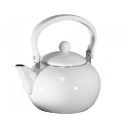 Reston Lloyd 30300 Calypso Basic 2 Qt. Harvest Tea Kettle White