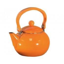 Reston Lloyd 30500 Calypso Basic 2 Qt. Harvest Tea Kettle Orange