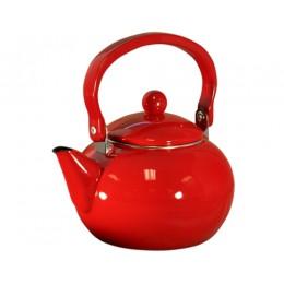 Reston Lloyd 30600 Calypso Basic 2 Qt. Harvest Tea Kettle Red