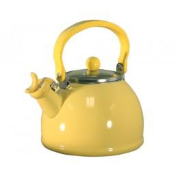 Reston Lloyd 60201 Whistling Tea Kettles 2.5 Qt Lemon
